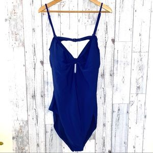 XXL royal blue Old Navy NEW one piece swimsuit